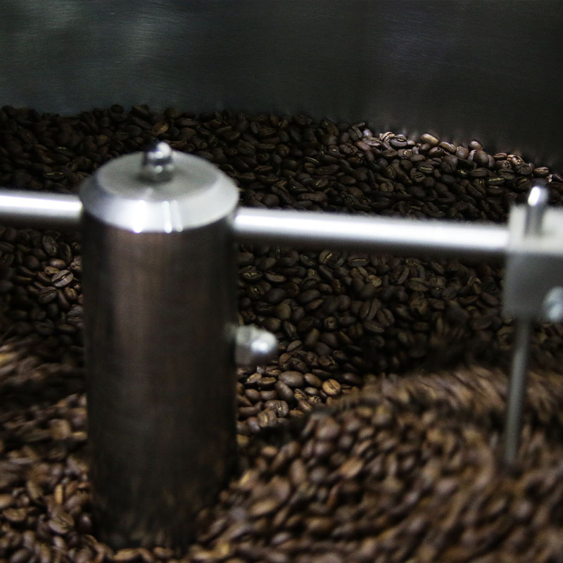 Cooling Roasted Bean at OCAM