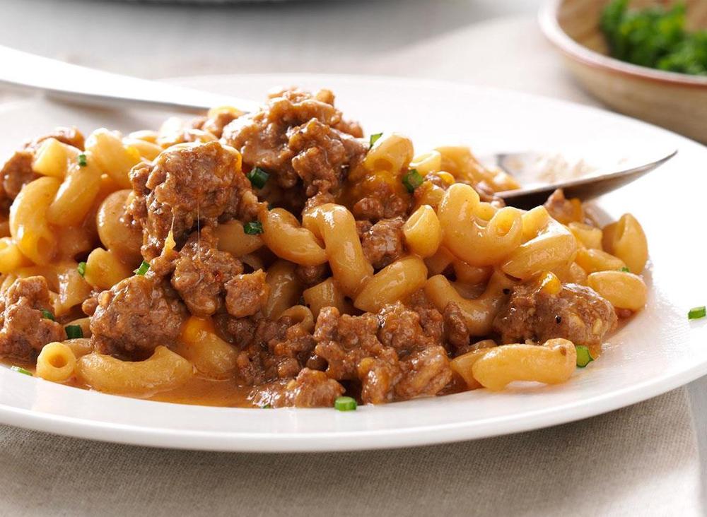 Beef Maccaroni